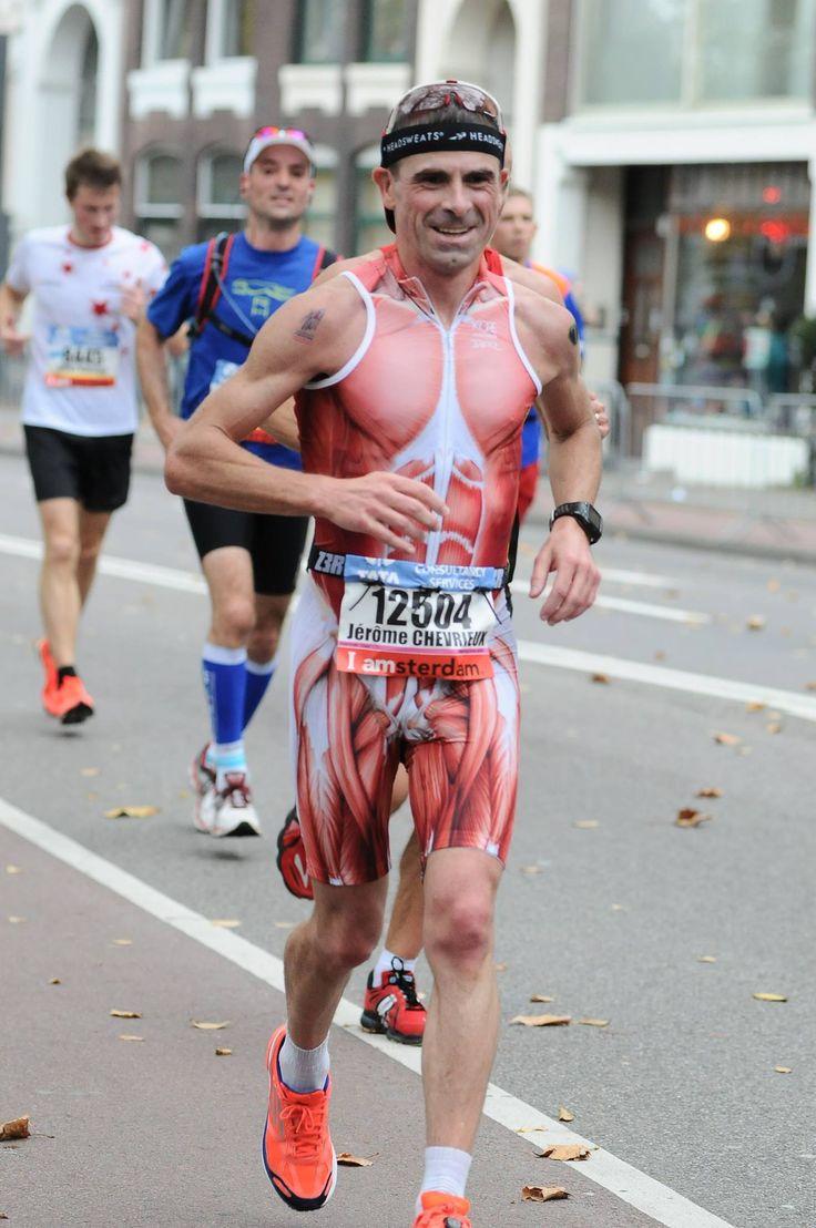 happy face - triathlon run
