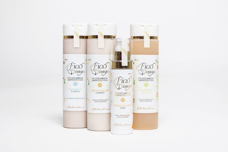 Packaging - Fico d'estate - Sunscreen (Naturextra, Elisabetta Ferrara) www.naturextra.it