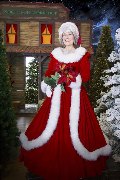 Mrs claus dallas clause pinterest santa