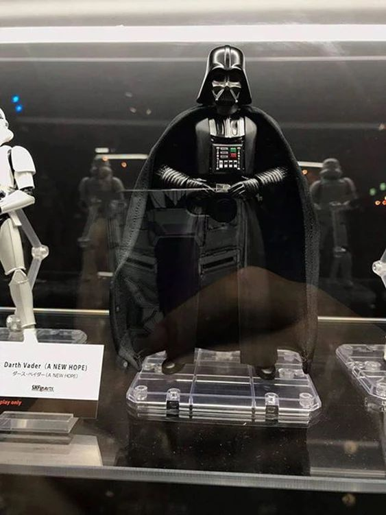 SH Figuarts A New Hope - Darth Vader & Obi-Wan Kenobi | The Mephitsu Archives, Action Figure Reviews and News