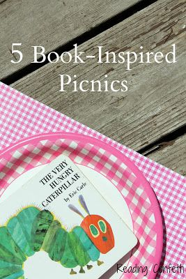 5 picnic lunches inspired by popular children's books