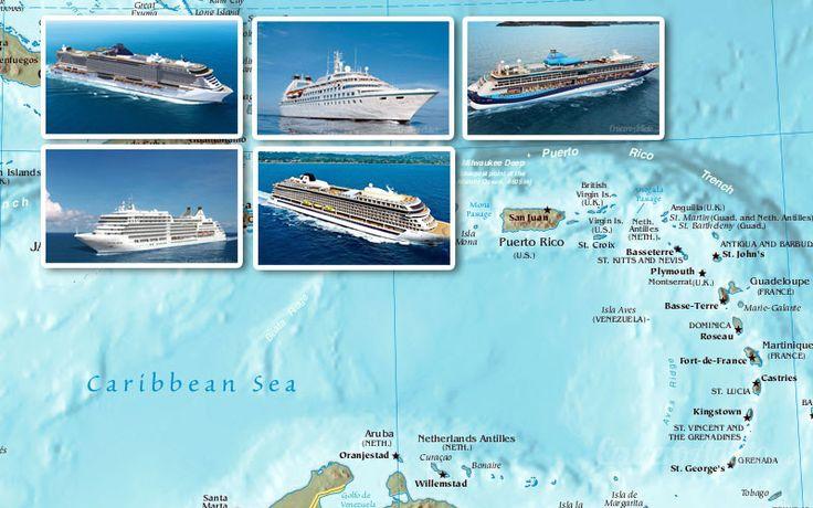 Estos serán los nuevos barcos de cruceros que vendrán a San Juan de Puerto Rico en 2017/18
