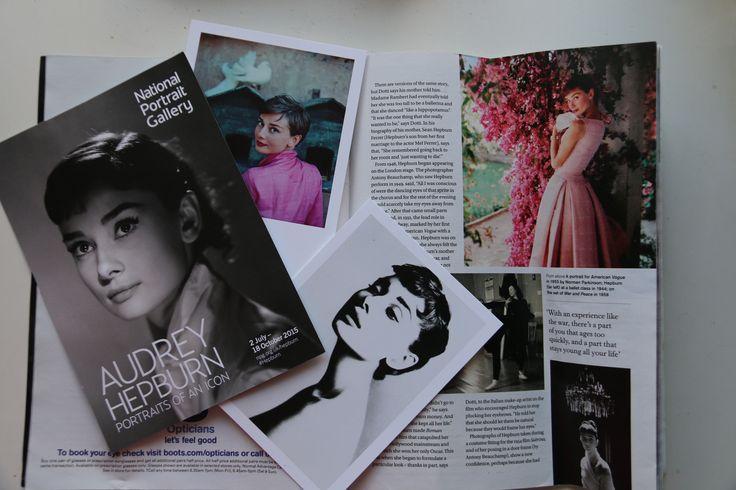 Audrey Hepburn, icon, exhibition