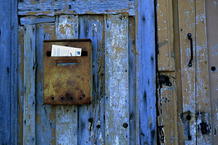 Old Door in Corsica