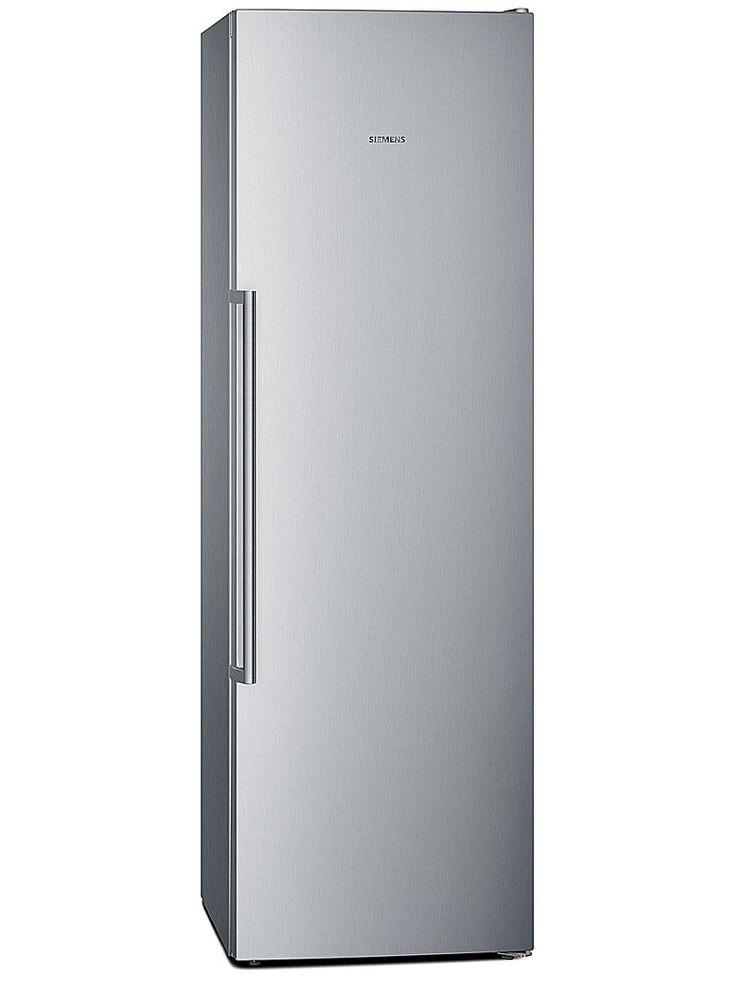 Siemens GS36NMI31 frysskåp. En av våra utvalda produkter med fem års garanti. Frysskåp från Siemens i energiklass A++ med elektronisk temperaturstyrning med touchControl.