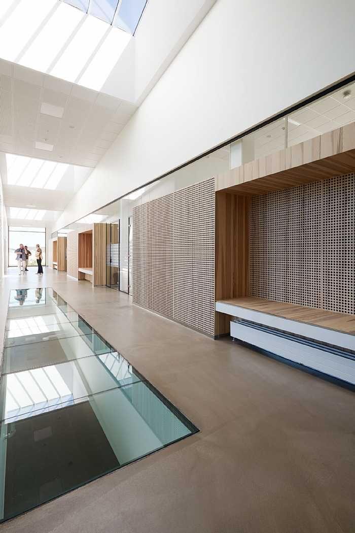 Herningsholm Vocational School in Denmark, by C.F. Møller Architects