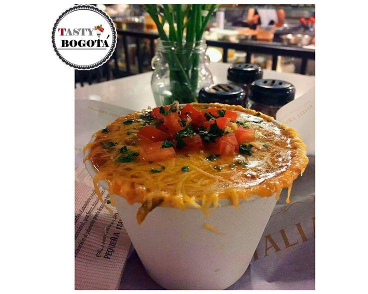 Sopa de lasagna Pequeña Italia