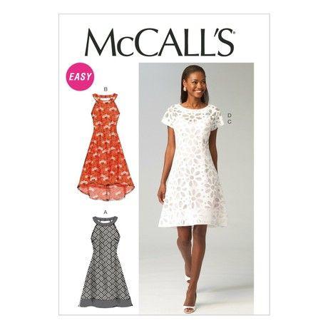 McCall's Patterns 6883 6/ 8/ 10/ 12/ 14, Multi-Colour