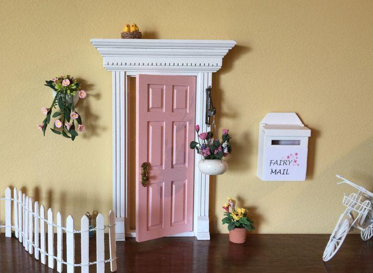 16 best fairy doors that open images on pinterest for Unfinished fairy door