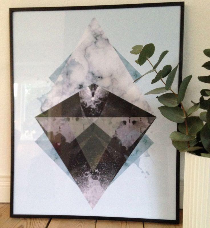 #maingraphicartwork.dk  - 40x50 framed Artwork
