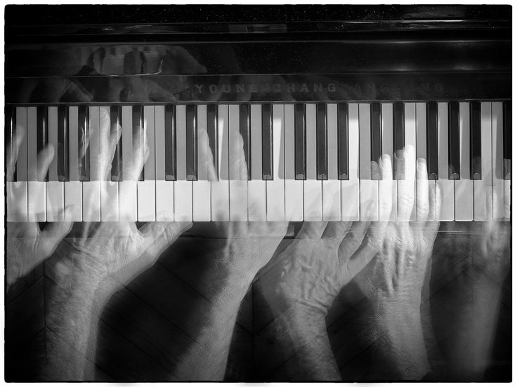 Playing piano - null