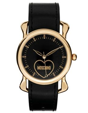 Agrandir Moschino Cheap & Chic - Fashion Victim - Montre avec foulard