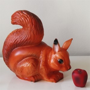 Heico squirrel lamp - 28cm