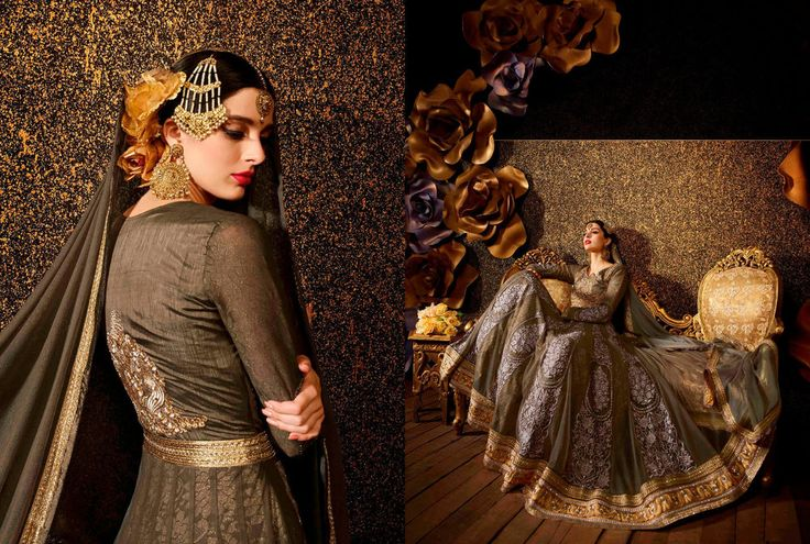 Anarkali New Indian Wedding Designer Bollywood Suit Salwar Pakistani Kameez 2045…
