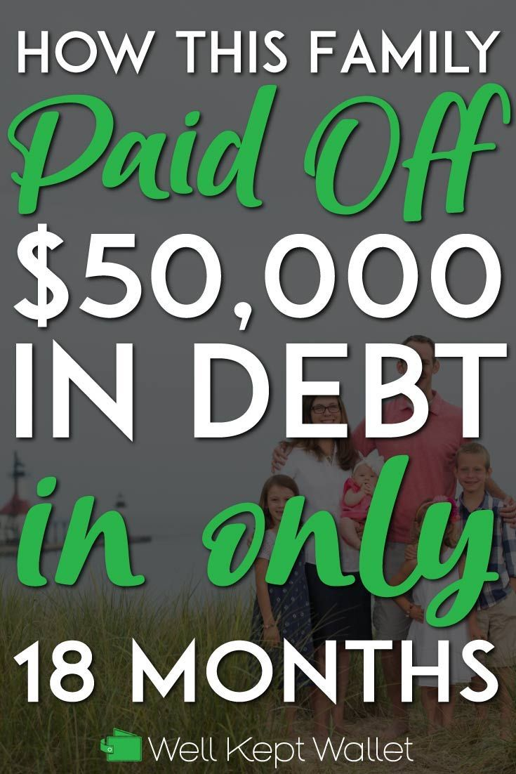 How This Family of 5 Paid Off $50,000 in Debt in 18 Months