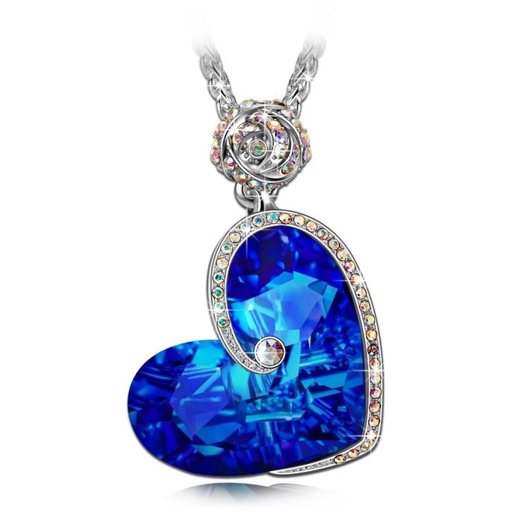 Best Gift For Ladies Part - 32: Heart Pendant Birthday Anniversary Gift For Women Girl Wife Mother Love  Necklace