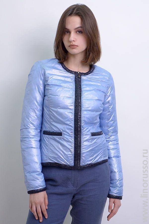 http://www.linorusso.ru/kurtka-jenskaya-gas-temno-sinii.html  #куртка #стеганая #двусторонняя #голубая #демисезонная #весенняя #навесну #италия #стеганка #jacket