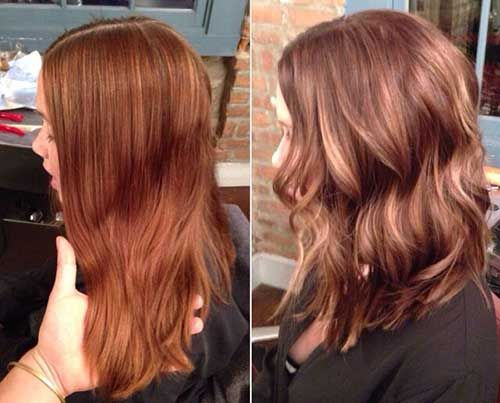14 Best Medium Hairstyles 2015 Images On Pinterest