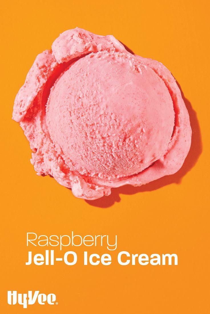Raspberry Jell O Ice Cream Recipe In 2020 Ice Cream Jell O Raspberry Ice Cream