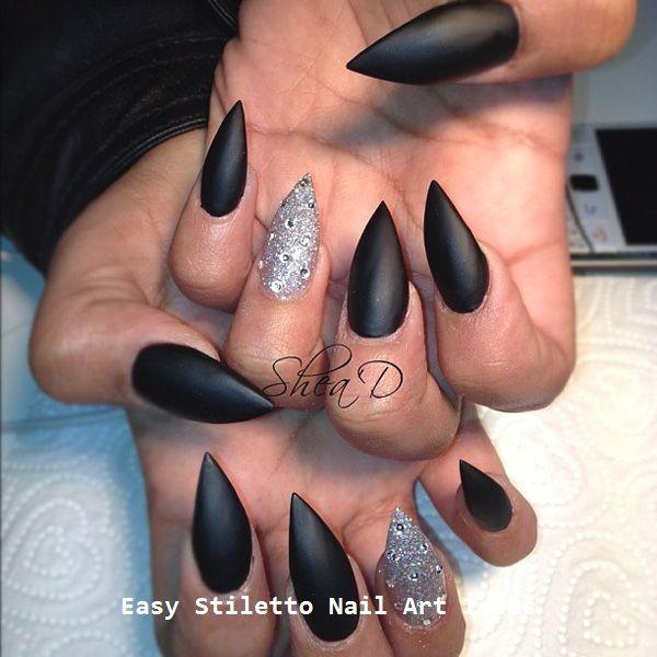 30 Ideen für großartige Stiletto-Nageldesigns #naildesigns #stilettonails – Stiletto Nails