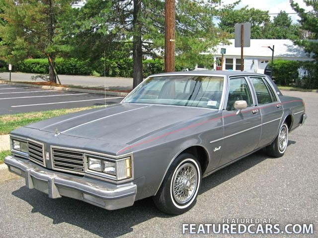 1st car 1985 oldsmobile delta 88 silver power everything floated