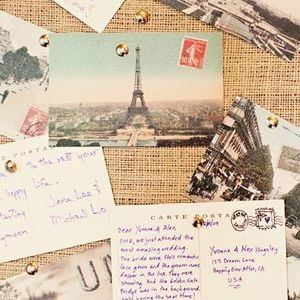 Postcard Guestbook- want to do this with reprinted vintage Hawaiian post cards