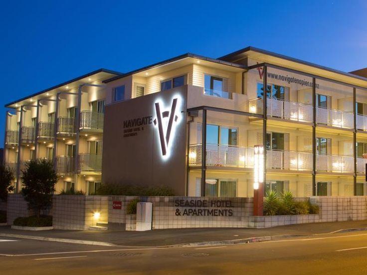 Navigate Seaside Hotel & Apartments  http://navigatenapier.co.nz