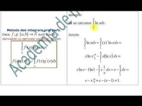 XII-Algebra-Integrala definita-reactualizare