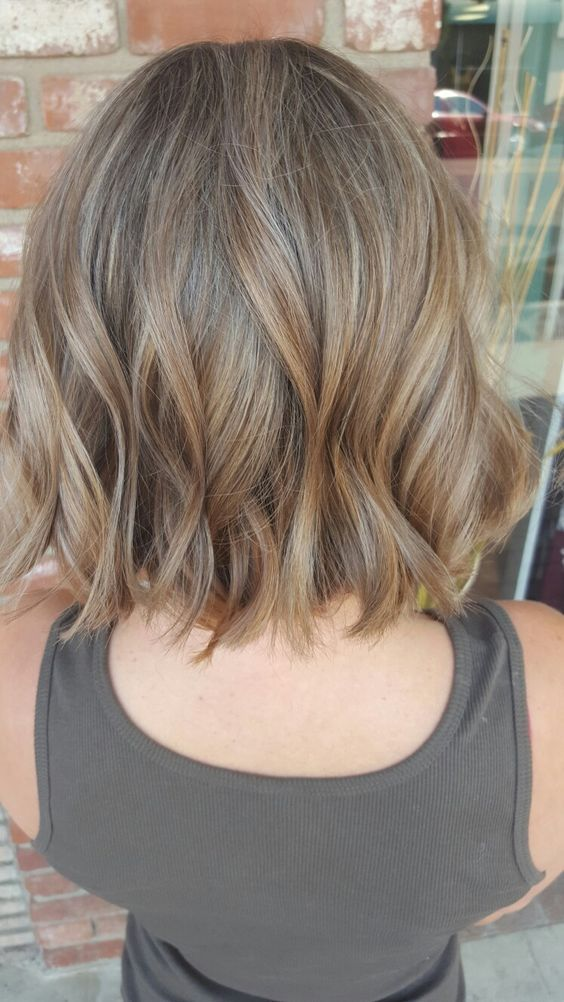 55 BLONDE OMBRE HAIR AND BEST COLOR IDEAS FOR SUMMER Dark Blonde BobsBlonde Short