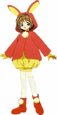 The Pink Snow Bunny costume - Cardcaptor Sakura Wiki - Wikia