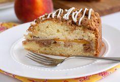Tish Boyle Sweet Dreams: Buttermilk Peach Coffee Cake