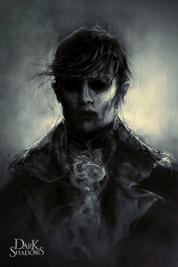 Dark Shadows - Barnabus Collins: Tim Burton, Johnny Depp [ Never saw the movie.. Love this piece of work though ]