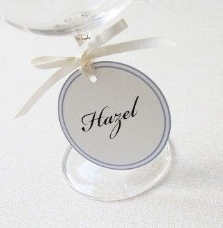 Circle Tie Place Card