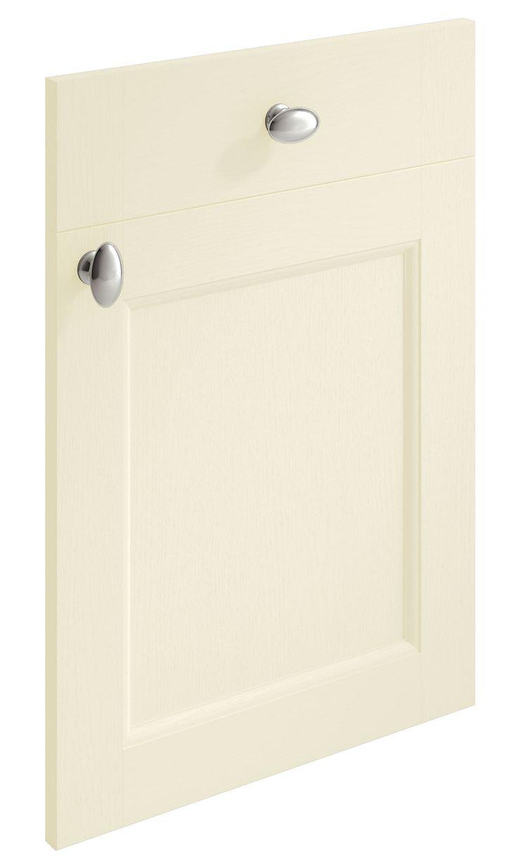 Windsor Shaker Ivory replacement kitchen door