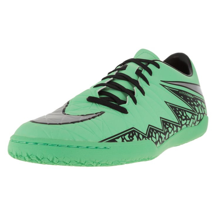 Nike Men\u0027s Hypervenom Phelon Ii Ic Glow/ Silver/Hyper Orange/B Indoor Soccer