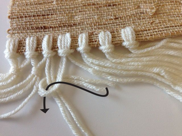Learn how to easily add fringe to existing items like a table runner and tank top.