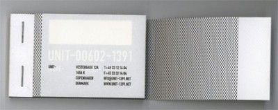 tape creative business card design