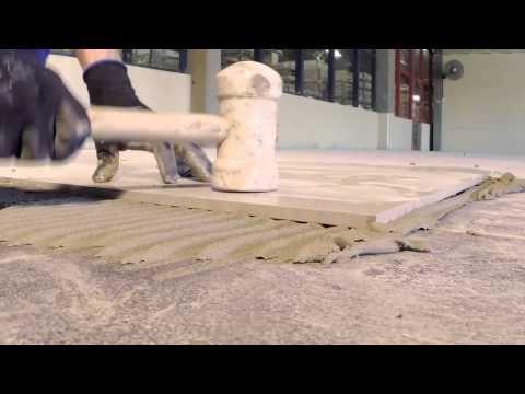 Cerâmica Portinari Explica - Assentamento de piso sobre piso. Você sabia que é possível assentar piso sobre piso, confira nesse vídeo como fazer esse serviço que é muito prático e rápido.                                                                                                                                                                                 More