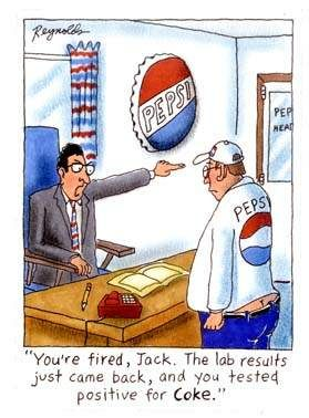 You are fired: Funny Cartoon, Test Positive, Funny Pics, Giggl, Diet Pepsi, Cocacola, Coca Cola, Funny Stuff, Diet Coke