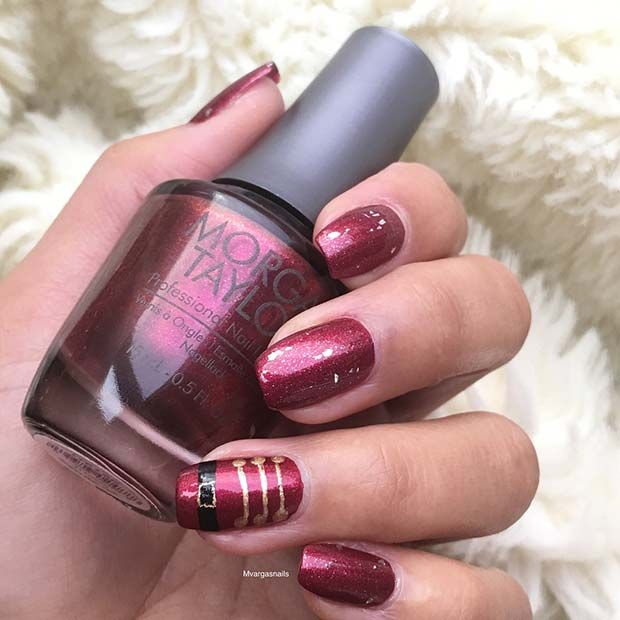 Pretty Holiday Nails to Get You Into the Christmas Spirit – Funky Nails