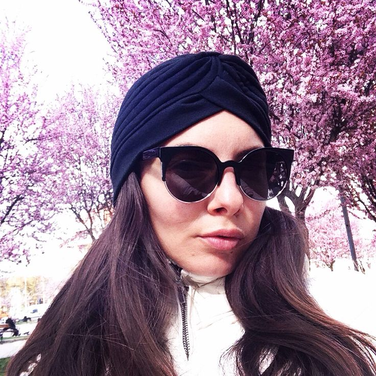 #sunglasses #turban #black