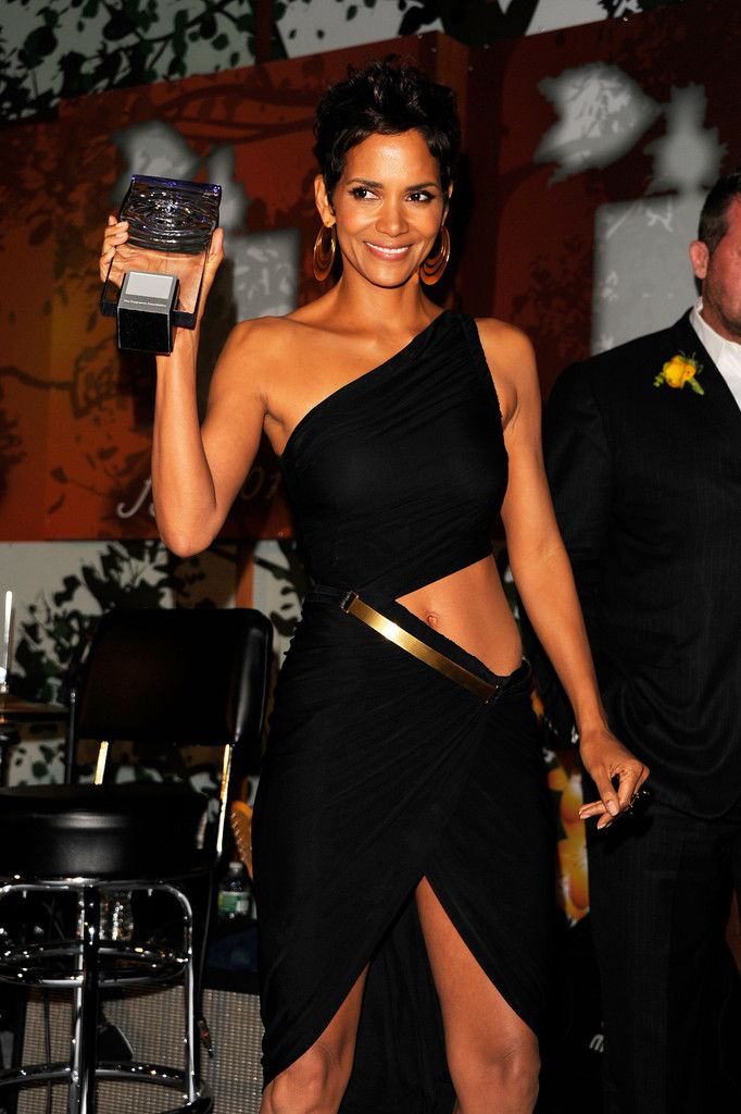 Halle Berry at the 2011 FiFi Awards at The Tent at Lincoln Center on May 25, 2011 in New York City.