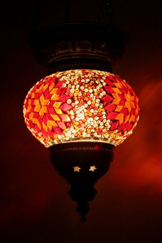 Orange Star Handmade Turkish Light