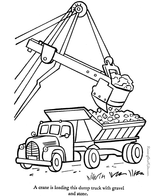 Tractor Colouring In Pages John Deere : 52 best construction images on pinterest