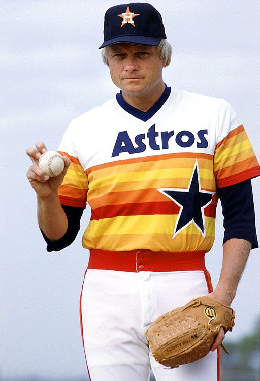 Joe Niekro--pitcher with the most wins in Houston Astros franchise history