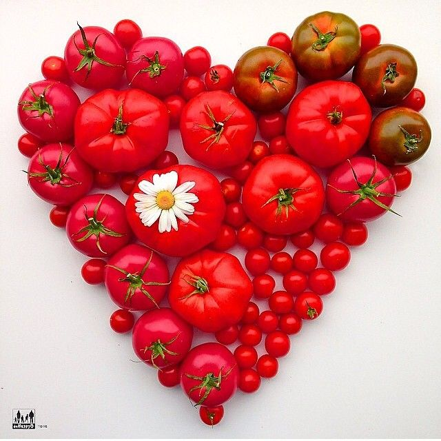Who else loves tomatoes !