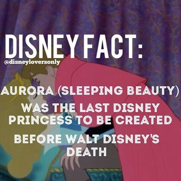 Don't get me wrong! I looooooove Disney, but Sleeping Beauty/Aurora/Briar Rose was created a long time ago, NOT by Disney.