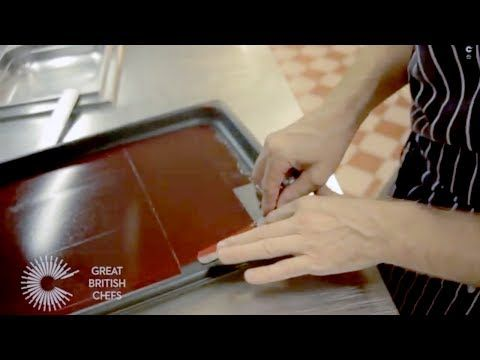 How to make a raspberry gel with chef Michael Wignall - YouTube