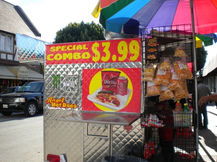 Hot Dogs Downtown Spokane