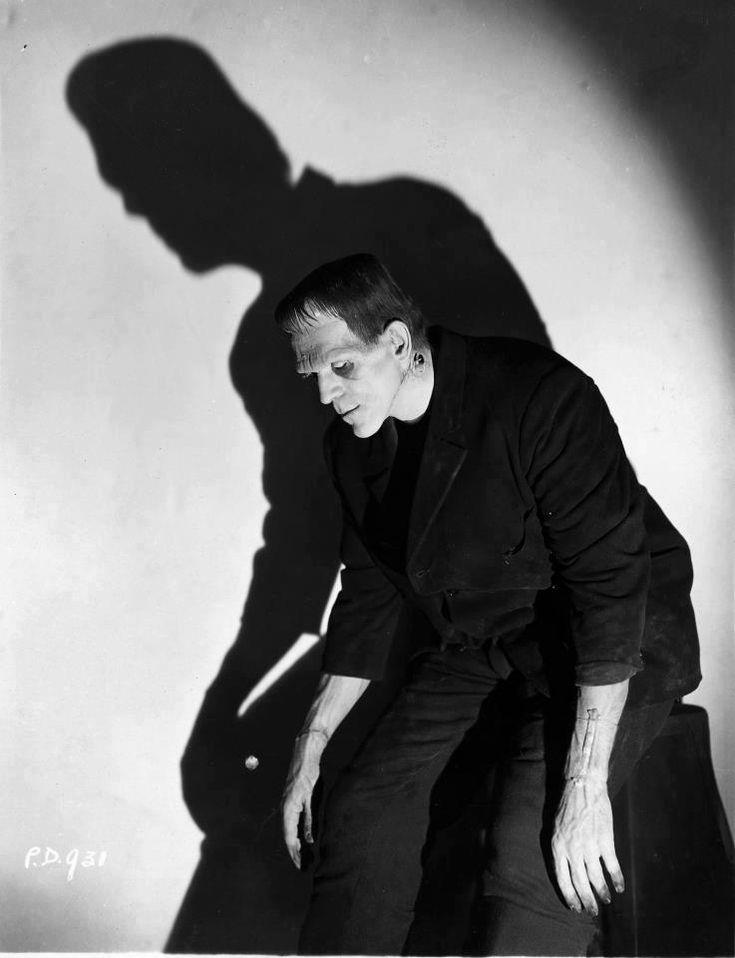 Boris Karloff as the Frankenstein Monster